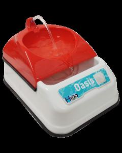 Bebedero Con Sensor de Movimiento Oasis Mini Rojo