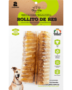 Three Pets - Rollitos de Res 60 gr x 2 Und