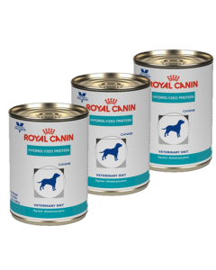 Royal Canin Dog Lata Hydrolyzed Protein Tripack x 385 gr