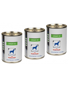 Royal Canin Dog Lata Urinary Tripack x 385 gr