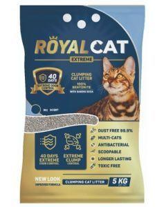 Arena para gatos Royal Cat sin Olor 5 Kg-Ciudaddemascotas.com