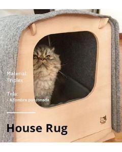 Nisa Pets House Casa para Mascotas House Rug