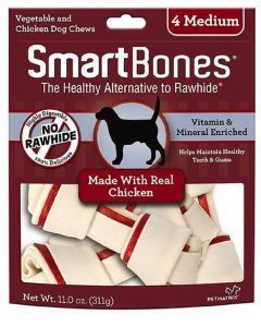 Smartbones Chicken Medium x 4 Piezas