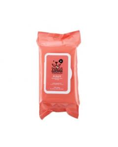 WAGS & WIGGLES pañitos purify pomelo hipoalergenicos x 100 und
