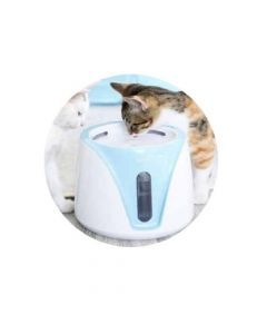 Bebedero para gatos de tipo fuente-Ciudaddemascotas.com
