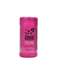 Wags & Wiggles Pañitos Polish Cereza X 50 Uns En Tarro