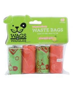 Bolsas de basura para perro Wags & Wiggles-ciudaddemascotas.com