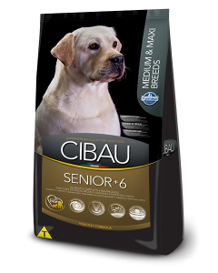 Cibau Senior Medium and Maxi Breed 12 Kg