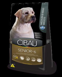 Comida para perro Cibau Senior Medium & Maxi-ciudaddemascotas.com