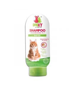 Dinky Shampoo para gatos x 30 ml - Ciudaddemascotas.com