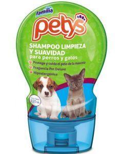 Shampoo limpieza y suavidad para mascotas-Ciudaddemascotas.com