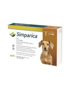Antiparasitario Simparica 20Mg Caja Tableta-Ciudaddemascotas.com