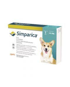 Simparica 40 Mg Caja 1 Tableta