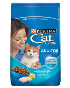 Purina Cat Chow Adultos Pescado de 1 a 7 Años