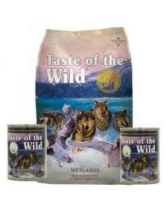 Taste Of The Wild City Combo Wetlands Canine 13.6 Kg + 2 Latas 374 grs