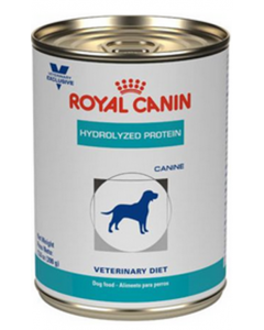 Royal Canin Dog Lata Hydrolized Protein x 385g