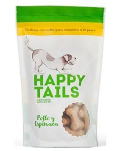 Happy Tails Pollo y Espinaca