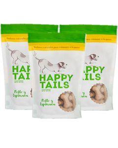 Combo Happy Tails Pollo y Espinaca X3