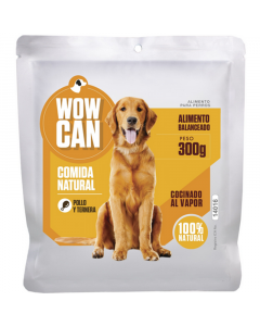 WOW CAN Cocinado Pollo/Ternera 300g