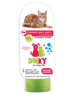 Shampoo Dinky Para Gatos x 250 ml - Ciudaddemascotas.com