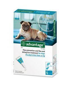 Advantage Pipeta para Perros de más de 4 kg hasta 10 kg