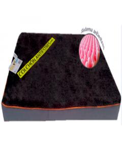 Colchón antiestres para mascota Gloopet talla L gris