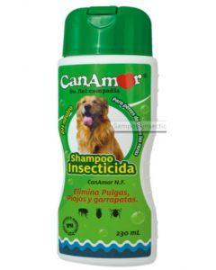 Shampoo antipulgas Canamor para perros x 230 cc