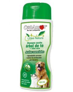 Champú Aceite Arbol de Té con Aloe vera230 cc - PRSR