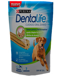 Snack Dentalife Large Dog Treat x 221g - ciudaddemascotas.com