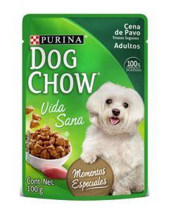 Dog chow pouch Cena pavo trozos jugosos - P80