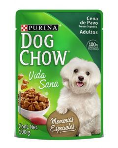 Six Pack Dog chow pouch Cena pavo trozos jugosos