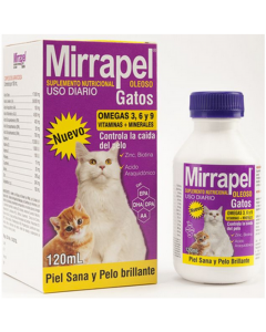 Mirrapel Gatos 120ml - P80