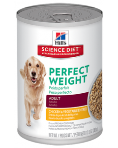 Hills Lata Perro perfectr Weight Chick y Veg 226 g - PRSR