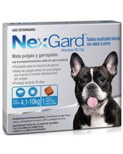 NexGard de 4 a 10Kg