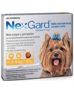 nextgard seguro antipulgas para perros  - Ciudaddemascotas.com