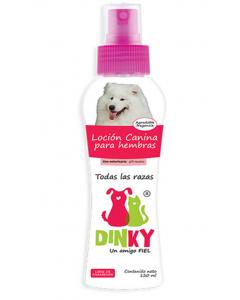 Loción Canina Dinky Hembras x 120 ml - Ciudaddemascotas.com