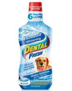 Enjuague Bucal Dental Fresh Whitening para Perros 17 oz