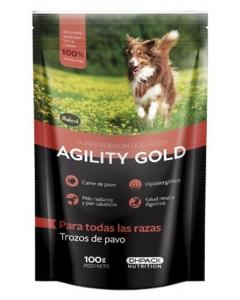 Agility Gold Pouch Trozos de Pavo