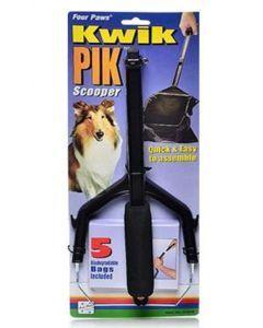 Recogedor de heces Kwik Pik Pinza heces-Ciudaddemascotas.com