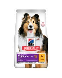 Hills Perro Adulto Sensitive Stomach and Skin 2 Kg