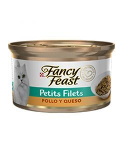 Fancy Feast Petit Filets Pollo y Queso