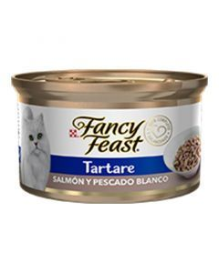 Fancy Feast Tartare Salmón y Pescado Blanco