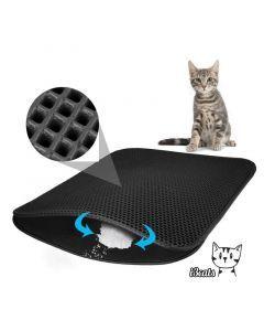 Tapete Recolector de Arena para Gatos, Mediano