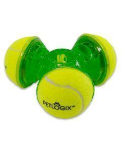 Juguetes para perro Petlogix tennis trio - Ciudaddemascotas.