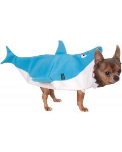 Disfraz Para Mascotas De Tiburón Talla XL - Ciudaddemascotas.com