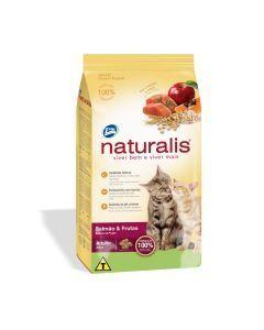Naturalis Gatos Adultos Salmón y Frutas