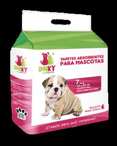 Dinky tapetes absorbentes para mascotas - Ciudaddemascotas.com