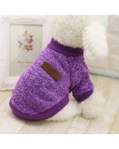 Buzo Valentin For Pets algodón Uva - ciudaddemascotas.com