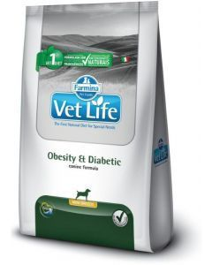 Vet Life Obesity And Diabetic Mini x 2 Kg - PRSR