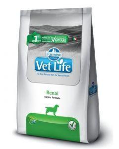 Comida para perro Vet Life Renal 2 Kg - ciudaddemascotas.com